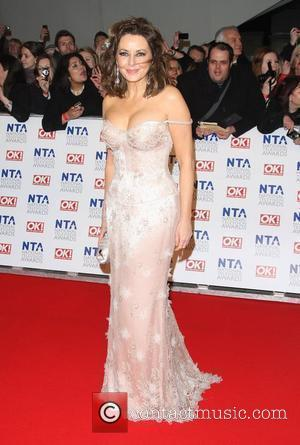 Carol Vorderman Dusts Off Cleavage-boosting Gown For Awards