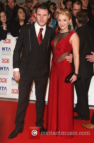 Danny Miller and Kirsty Leigh Porter The National Television Awards 2012 (NTA's) - Arrivals London, England - 25.01.12