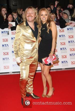 Leigh Francis and Laura Aikman
