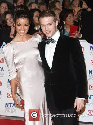 Chris Fountain and girlfriend Jessica Derrick The National Television Awards 2012 (NTA's) - Arrivals London, England - 25.01.12