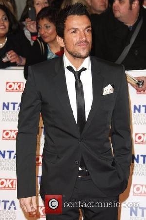 Peter Andre The National Television Awards 2012 (NTA's) - Arrivals London, England - 25.01.12