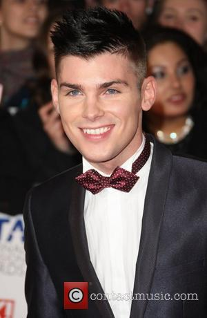 Kieron Richardson The National Television Awards 2012 (NTA's) - Arrivals London, England - 25.01.12
