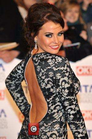 Jessica Wright National Television Awards held at the O2 Arena - Arrivals. London, England - 25.01.12