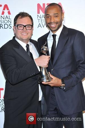 Alan Carr, Thierry Henry and O2 Arena