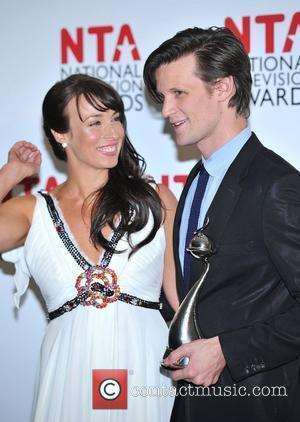 Matt Smith and Laura Jayne Smith National Television Awards held at the O2 Arena - Press Room. London, England -...