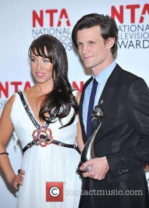 Matt Smith and Laura Jayne Smith National Television Awards held at the O2 Arena - Press Room. London, England -...