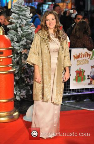 Jessica Hynes Nativity 2 World Premiere held at the Empire, Leicester Square - Arrivals. London, England - 13.11.12