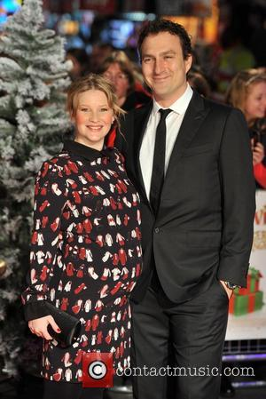Joanna Page and James Thornton Nativity 2 World Premiere held at the Empire, Leicester Square - Arrivals. London, England -...