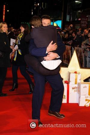 Marc Wootton and David Tennant
