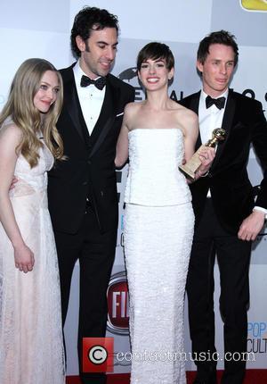 Amanda Seyfried, Sacha Baron Cohen, Anne Hathaway and Eddie Redmayne