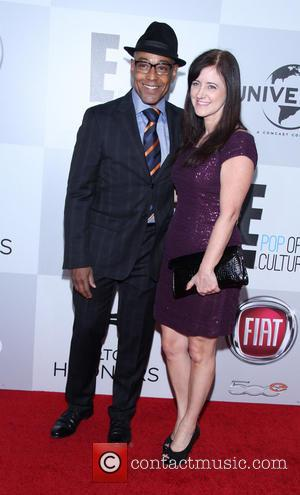 Giancarlo Esposito; Joy McManigal 2013 HBO's Golden Globes Party at the Beverly Hilton Hotel - Arrivals  Featuring: Giancarlo Esposito,...