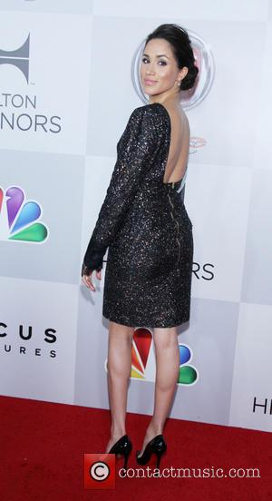 Meghan Markle 2013 HBO's Golden Globes Party at the Beverly Hilton Hotel - Arrivals  Featuring: Meghan Markle Where: Los...