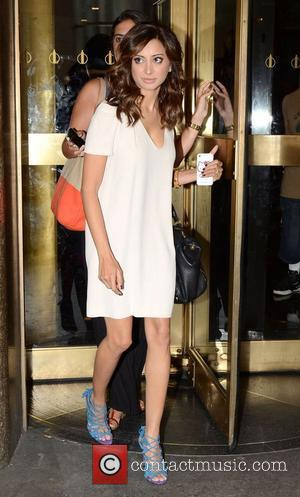 Noureen DeWulf,  leaving NBC Studios New York City, USA - 2012.07.11