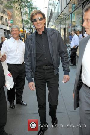 Barry Manilow Celebrities are seen outside of NBC studios in Manhattan New York City, USA - 12.09.12
