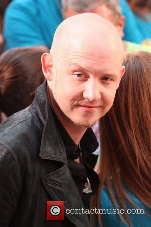 Isaac Slade NBC Toyota Concert Series presents The Fray at Rockefeller Plaza  New York City, USA - 12.08.12
