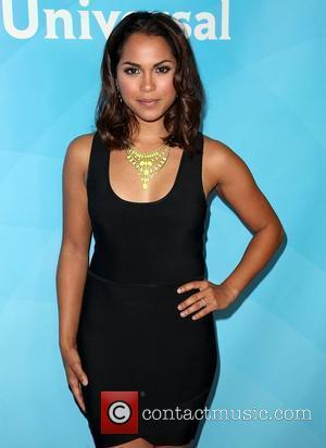 Monica Raymund and Beverly Hilton Hotel