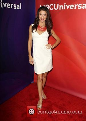 Samantha Harris NBC Universal Press Tour at Beverly Hilton Hotel Beverly Hills, California - 24.07.12