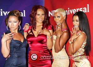 Eva Marcille, Denyce Lawton and Beverly Hilton Hotel