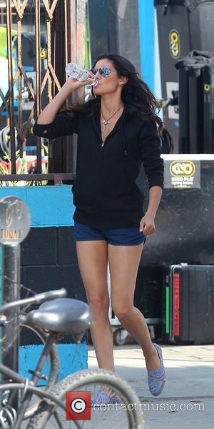 Daniela Ruah 'NCIS Los Angeles'  filming on location in Venice  Los Angeles, California - 18.09.12
