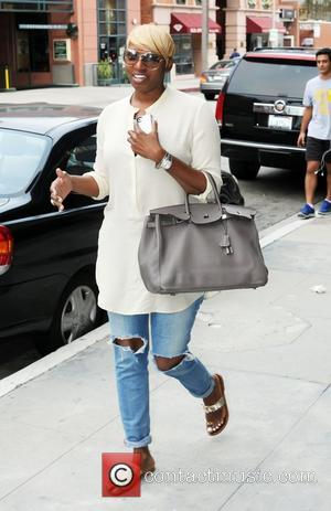 Real Housewives of Atlanta star, Nene Leaks, out and about in Beverly Hills Beverly Hills, California - 23.08.12