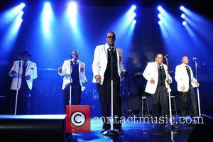 New Edition perform at Bank United Center in support of their tour 'Road To the 30th'  Miami, Florida -...