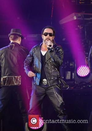 A. J. McLean of the Backstreet Boys performing at Liverpool Echo Arena. Liverpool, England - 23.04.12