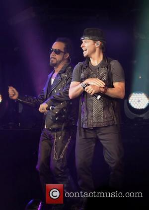 Mclean, Backstreet Boys, Donnie Wahlberg, New Kids On The Block and Liverpool Echo Arena