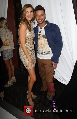 Heather McDonald, Jai Rodriguez W Hotel's Private Lounge at LOGO's 2012 'NewNowNext' Awards - Backstage Los Angeles, California - 05.04.12