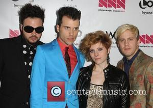 Neon Trees' Drummer Gives Birth