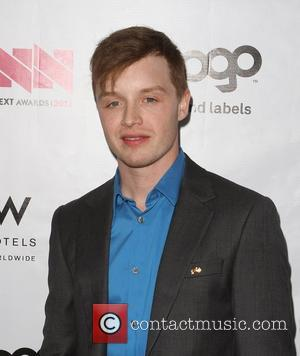 Noel Fisher W Hotel's Private Lounge at LOGO's 2012 'NewNowNext' Awards - Backstage Los Angeles, California - 05.04.12