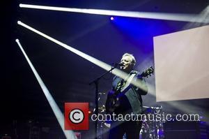 English rock band New Order  perform live at the Brixton Academy London, UK - 02.05.12
