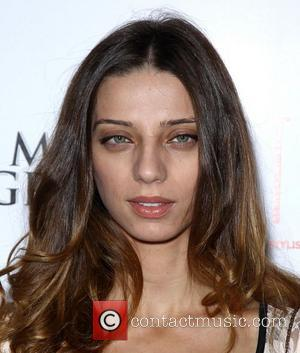 Angela Sarafyan New Twilight cast members Angela Sarafyan and Rami Malek celebrate movie release at Tabu at MGM Grand Resort...
