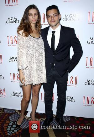 Angela Sarafyan, Rami Malek New Twilight cast members Angela Sarafyan and Rami Malek celebrate movie release at Tabu at MGM...