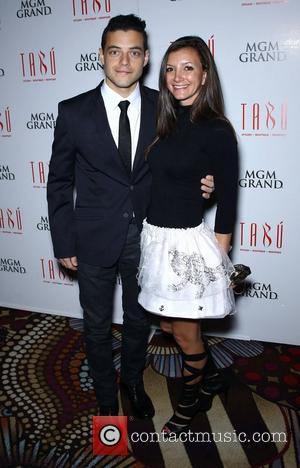 Rami Malek and Aimee Robert