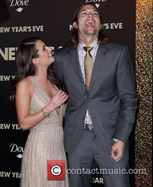 Lea Michele, Ashton Kutcher and Grauman's Chinese Theatre