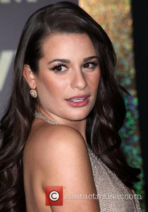 Lea Michele and Grauman's Chinese Theatre