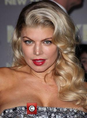 Fergie and Grauman's Chinese Theatre
