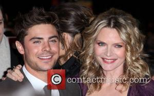 Zac Efron, Michelle Pfeiffer and Grauman's Chinese Theatre