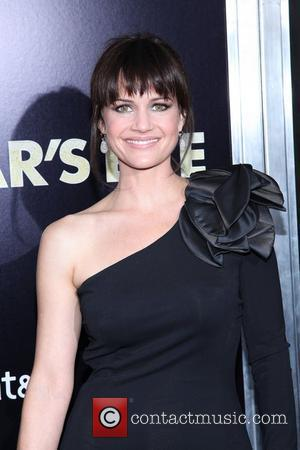 Carla Gugino and Ziegfeld Theatre