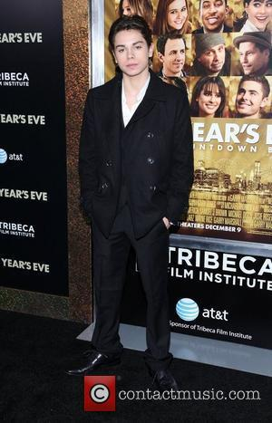Jake T. Austin  New York premiere of 'New Year's Eve' at the Ziegfeld Theatre - Arrivals  New York...