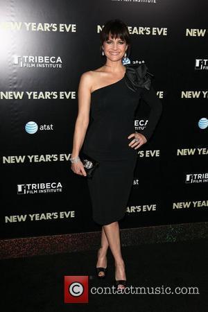 Carla Gugino and Ziegfeld Theatre