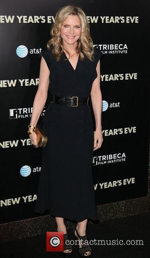 Michelle Pfeiffer and Ziegfeld Theatre