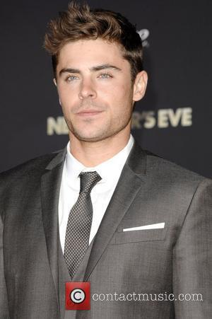 Zac Efron and Grauman's Chinese Theatre