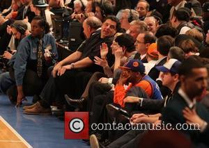 Steve Schirripa, Edie Falco, Spike Lee and Madison Square Garden