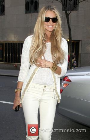 Elle Macpherson arrives at NBC's 'New York Live' studios New York City, USA - 13.03.12