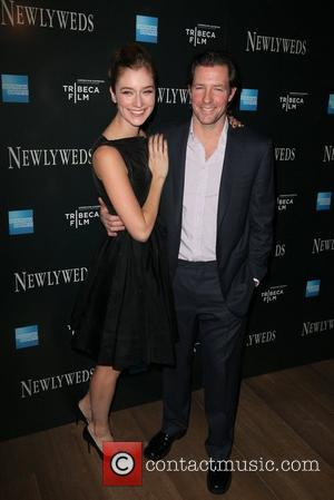 Caitlin Fitzgerald, Ed Burns  The New York Premiere of 'Newlyweds' held at the Crosby Street Hotel New York City,...