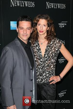 David Alan Basche, Alysia Reiner The New York Premiere of 'Newlyweds' held at the Crosby Street Hotel New York City,...