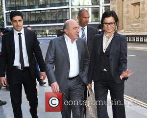 Boris Berezovsky arrives at the Royal Courts of Justice for the case in relation to the dispute with Roman Abramovich,...