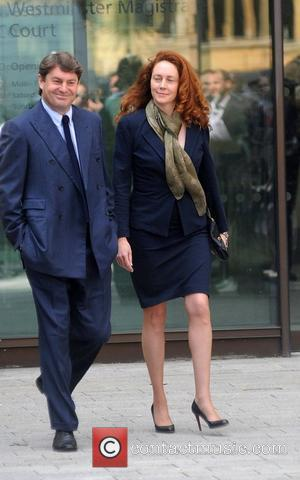 Rebekah Brooks, Charlie Brooks leave the City of Westminster Magistrates' Court after appearing accused of conspiracy to pervert the course...
