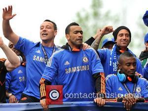 John Terry and Salomon Kalou